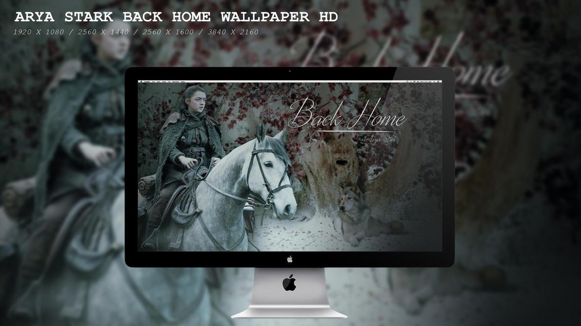 Arya Stark Back Home Wallpaper HD by BeAware8