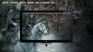 Arya Stark Back Home Wallpaper HD