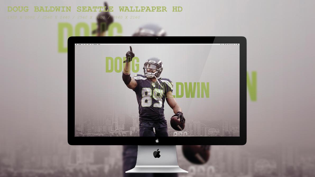 Doug Baldwin Seattle Wallpaper HD by BeAware8