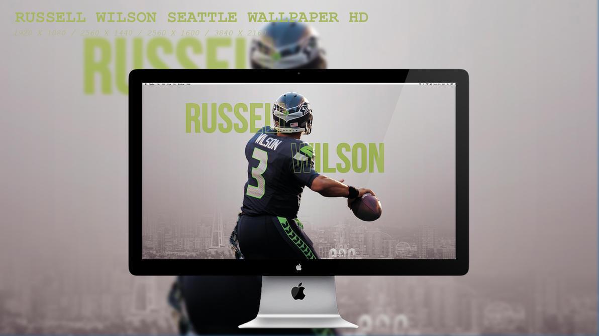 Russell Wilson Seattle Wallpaper HD by BeAware8