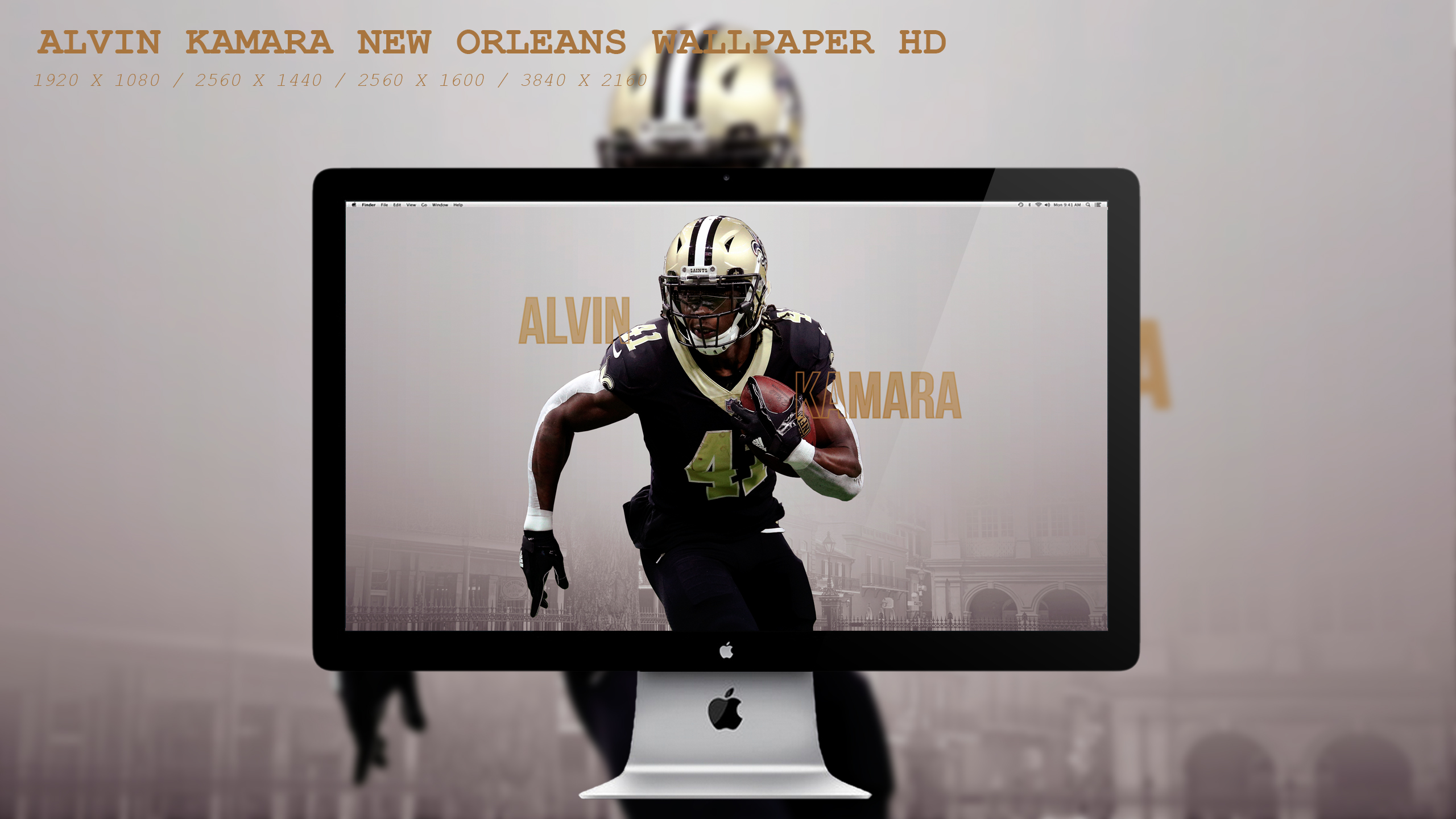 Alvin Kamara New Orleans Wallpaper Hd By Beaware8 On Deviantart