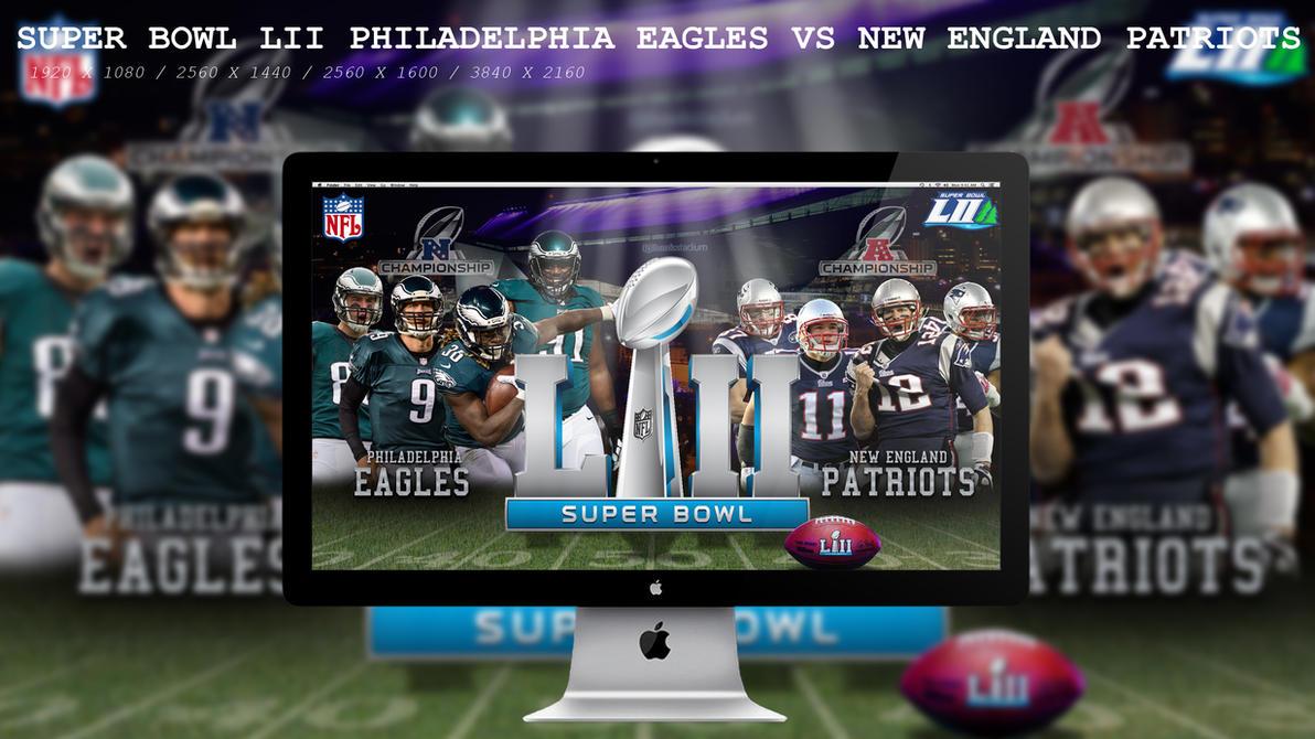 Super Bowl LII Eagles Vs Patriots by BeAware8