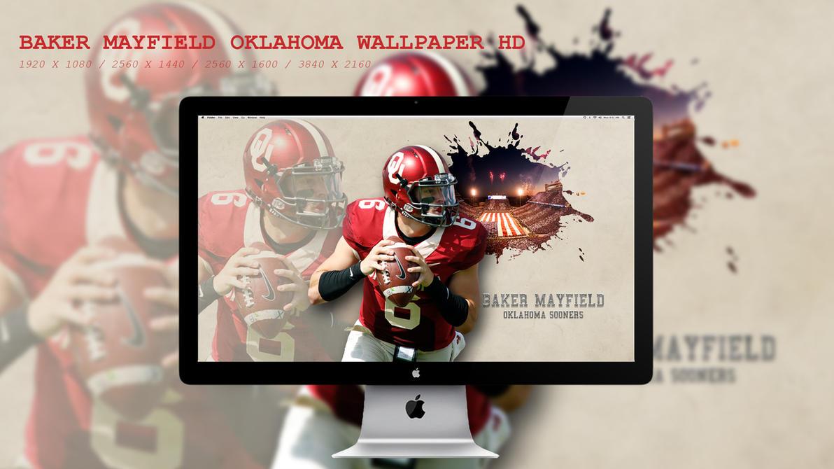 Baker Mayfield Oklahoma Wallpaper HD by BeAware8