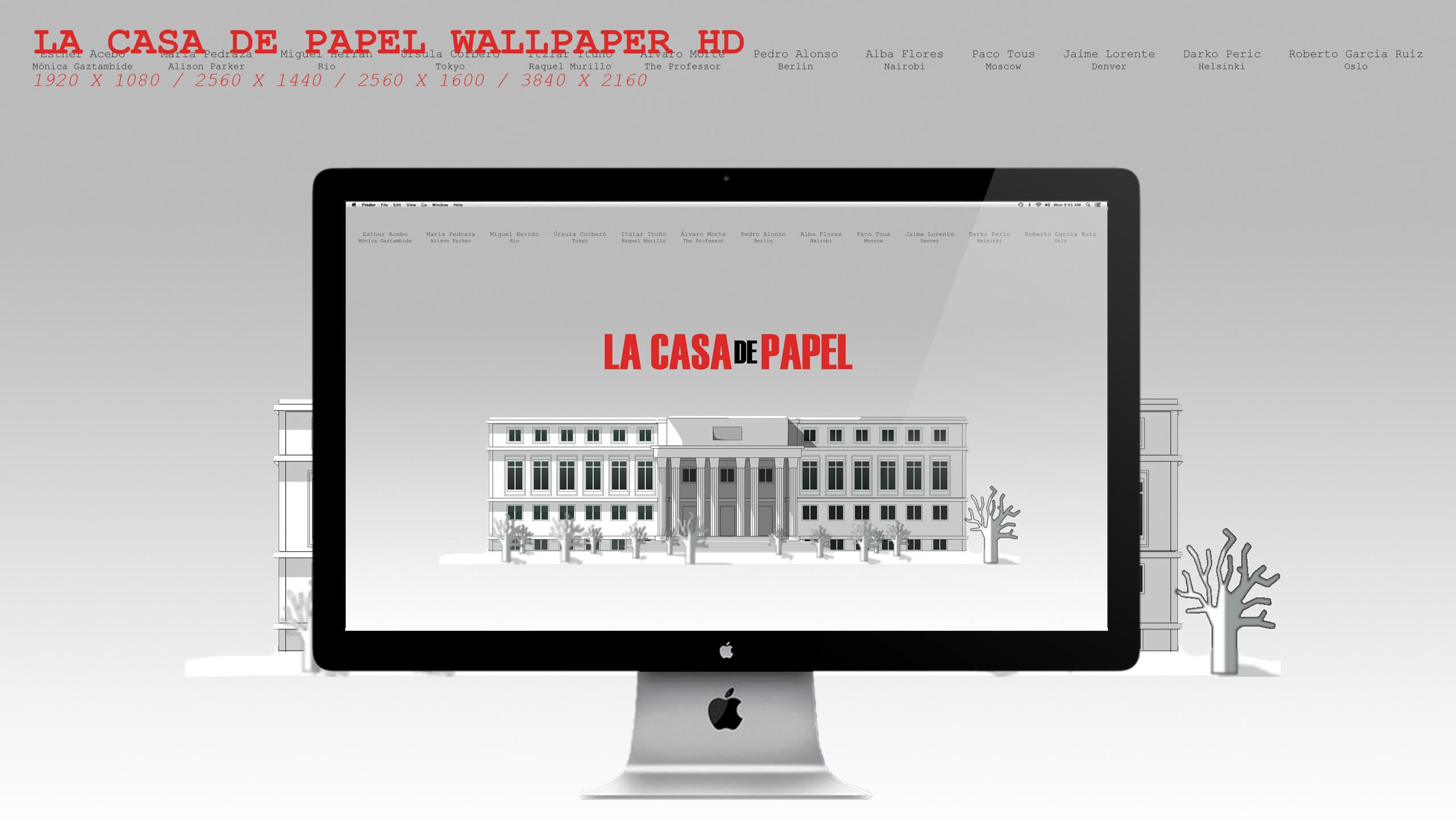La Casa De Papel Wallpaper Hd By Beaware8 On Deviantart