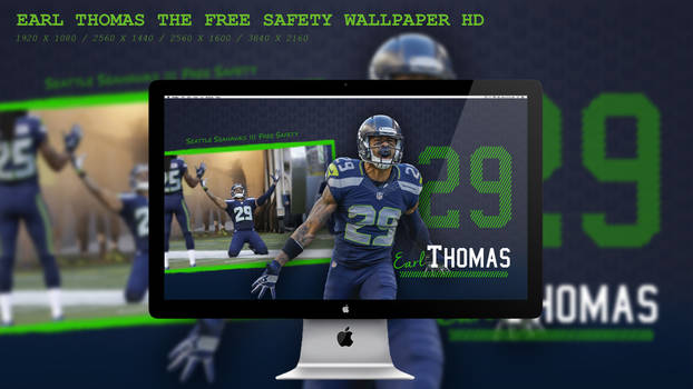 Earl Thomas The Free Safety Wallpaper HD