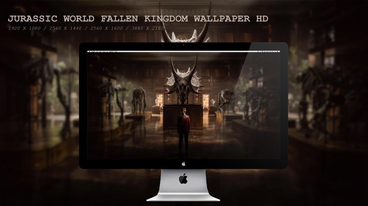 Jurassic World Fallen Kingdom Wallpaper HD by BeAware8