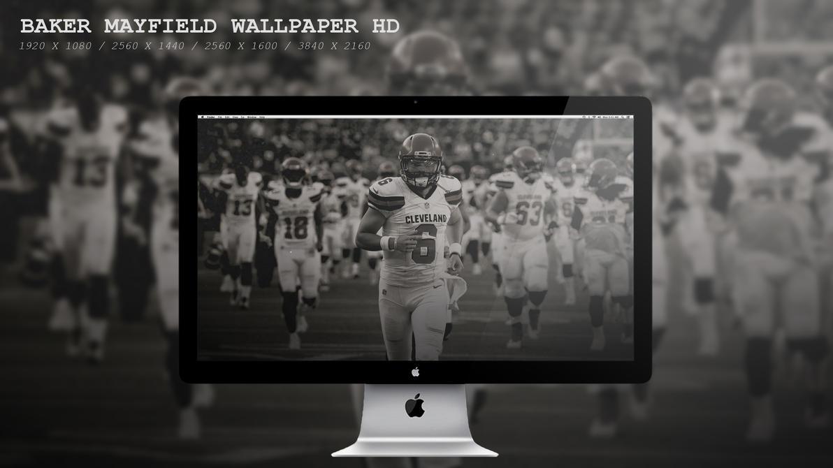 Baker Mayfield Wallpaper HD by BeAware8