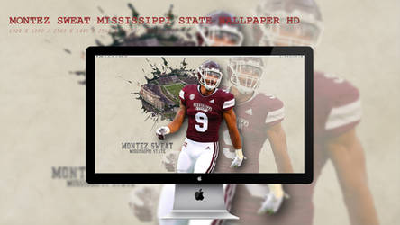 Montez Sweat Mississippi State Wallpaper HD