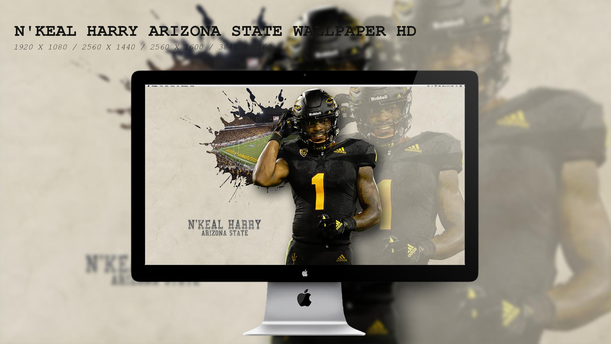 N'Keal Harry Arizona State Wallpaper HD