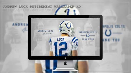 Andrew Luck Retirement Wallpaper HD