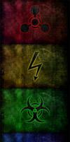 Hazardous Grunge Wallpapers