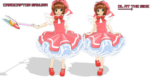 MMD NC : Cardcaptor Sakura + DL [Updated] by Ayodan