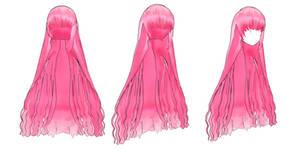 MMD : Bubblegum Wig + DL