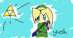Link Doodle Chibi