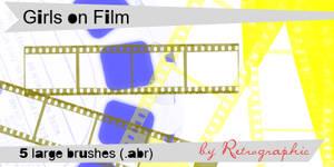 Girls on Film Brush Set