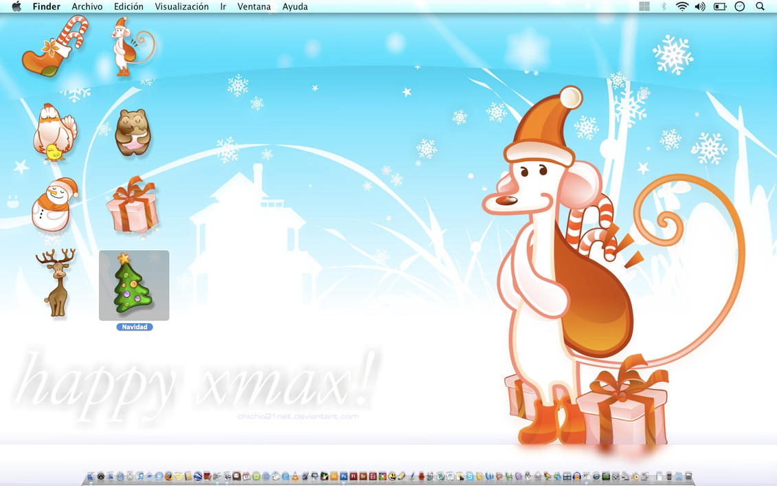 happy xmas icons by chicho21net