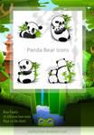 Panda Dock Icons