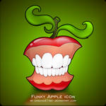 Funky Apple Dock Icon