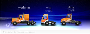 Little Trucks HD Icons 4 Mac