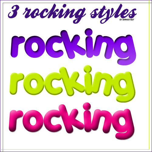 Rocking styles by Shakeitout