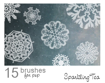 Snowflake Brushes 2 by SparklingTea