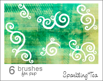 Curly Brushes by SparklingTea