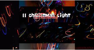 11 christmas light textures