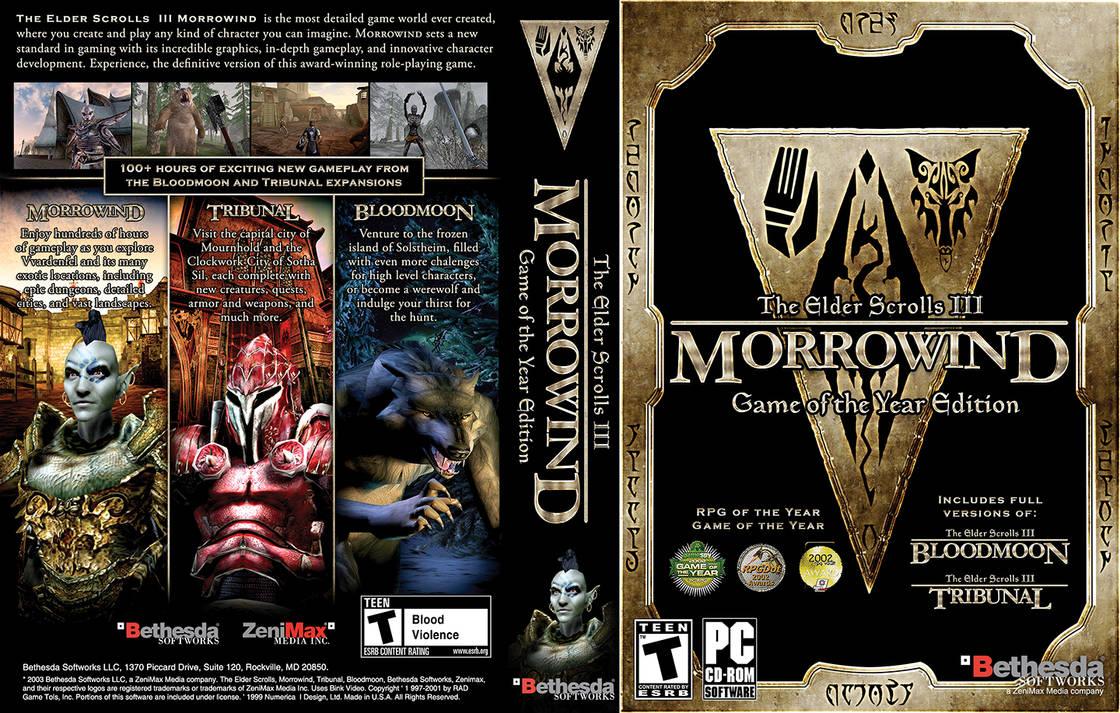 Morrowind Wraparound Cover by VoidQueenElishiva on DeviantArt