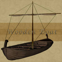 Wooden Boat 2 by Just-A-Little-Knotty