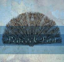 Peacock Fan by Just-A-Little-Knotty