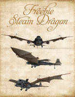 Steam Dragon Freebie Pack by Just-A-Little-Knotty