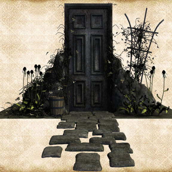 Spooky Door by Just-A-Little-Knotty ... & Spooky Door by Just-A-Little-Knotty on DeviantArt