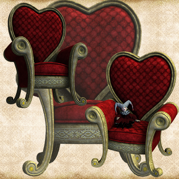 Red Heart Throne