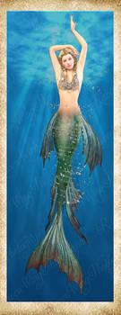 Mermaid Freebie by Just-A-Little-Knotty
