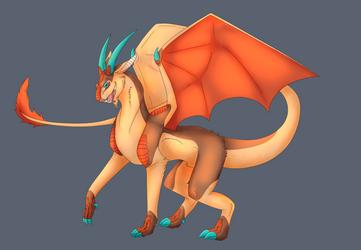 Goat Dragon Gif by shadow21812