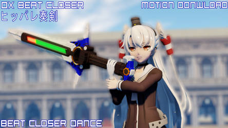 MMD Beat Closer Dance Pack Motion DL by Chiba-Taiki