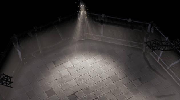 game scene sewer