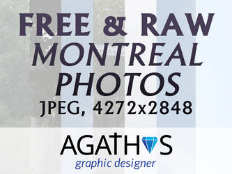 Free and Raw - Montreal Photos - v1 by Agathosa