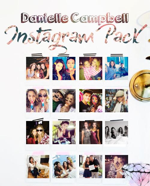 Danielle Campbell Instagram Pack by hopescosycorner
