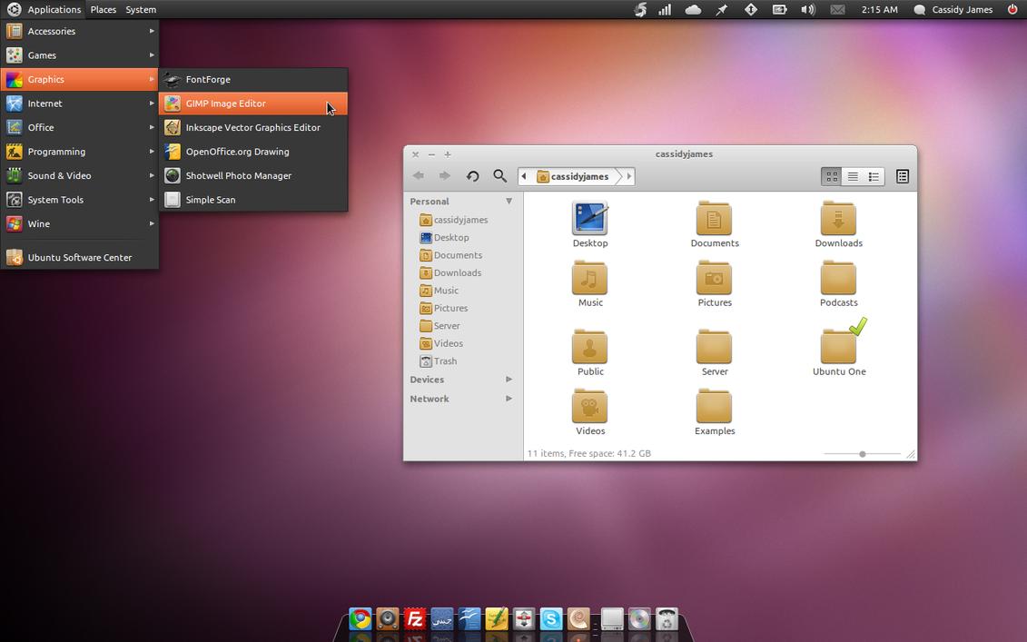 elementary Ubuntu by CassidyJames