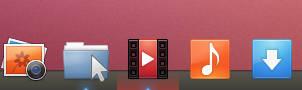 Ubuntu Panel theme for Plank