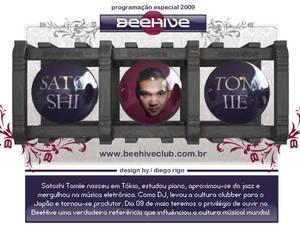 beehive, 2009 banner satoshi