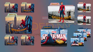 Spider Man Homecoming (2017) Folder Icon Pack v1