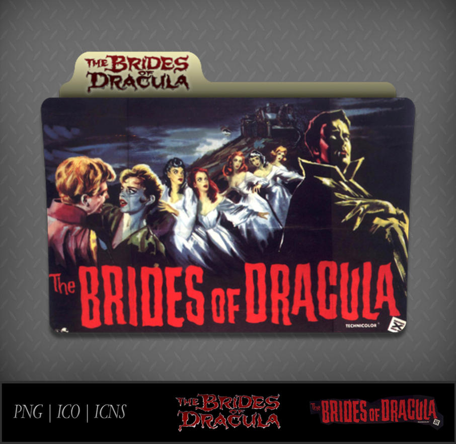 Brides Of Dracula (1960) Movie Folder Icon by DhrisJ