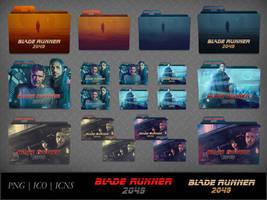 Blade Runner 2049 (2017) Movie Folder Icon Pack by DhrisJ