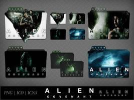 Alien Covenant (2017) Movie Folder Icon Pack by DhrisJ