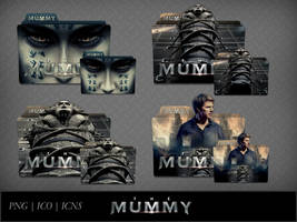 The Mummy (2017) Movie Folder Icon Pack by DhrisJ