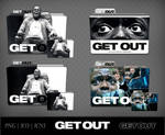 Get Out (2017) Movie Folder Icon Pack