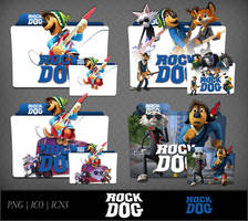 Rock Dog (2016) Movie Folder Icon Pack by DhrisJ