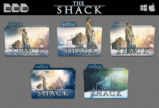 The Shack (2017) Movie Folder Icon Pack v02